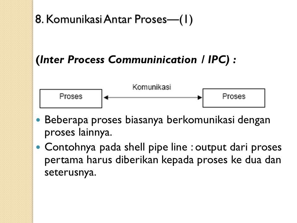 8. Komunikasi Antar Proses—(1)