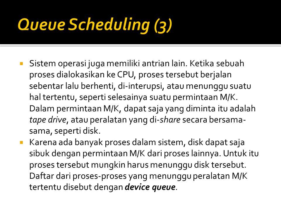 Queue Scheduling (3)