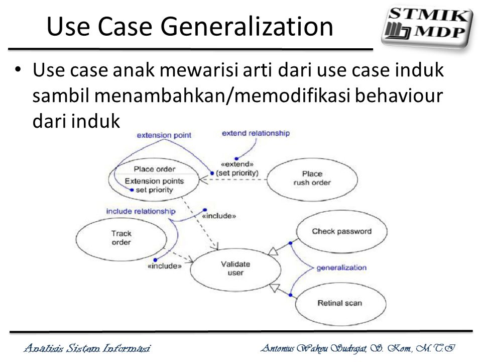 Use Case Generalization
