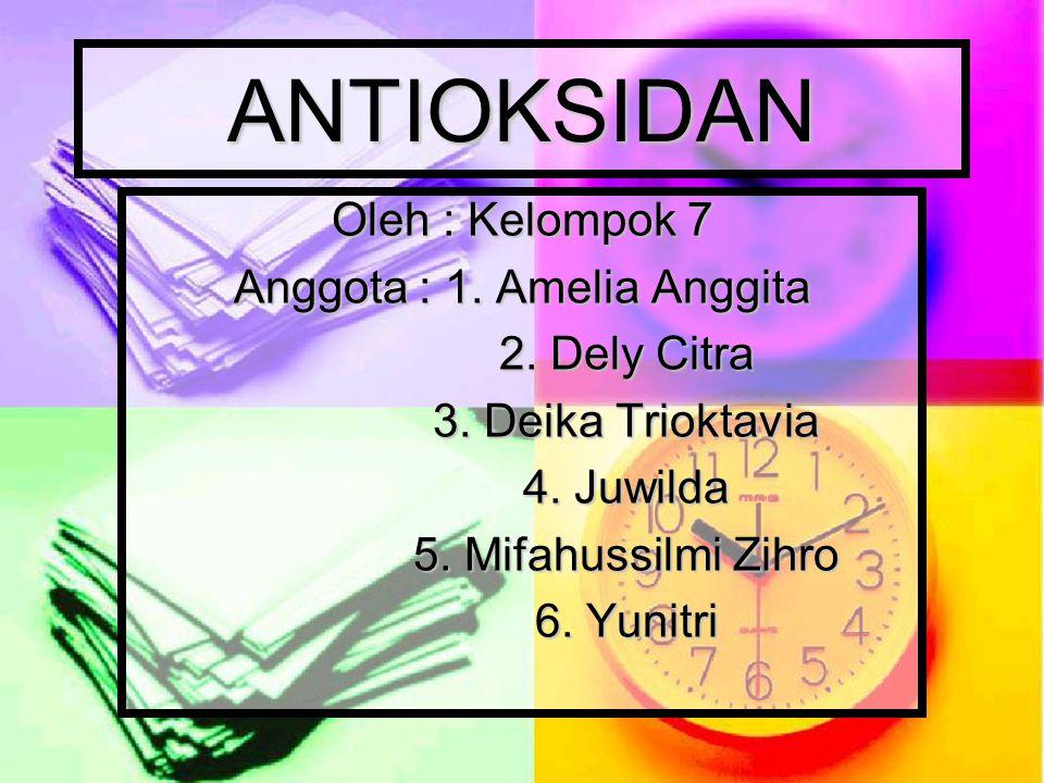 Anggota : 1. Amelia Anggita