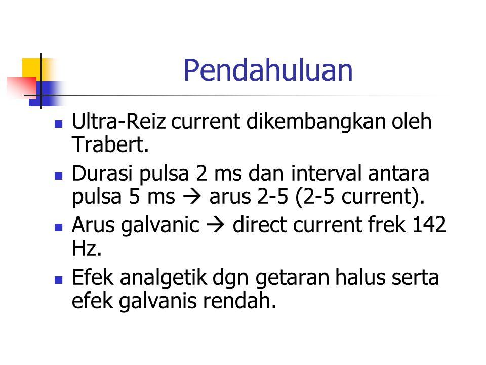 Pendahuluan Ultra-Reiz current dikembangkan oleh Trabert.