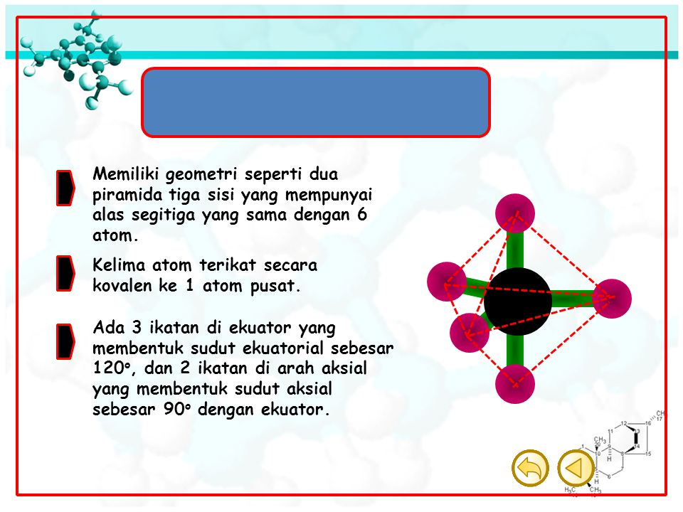 Molekul Bipiramida Trigonal