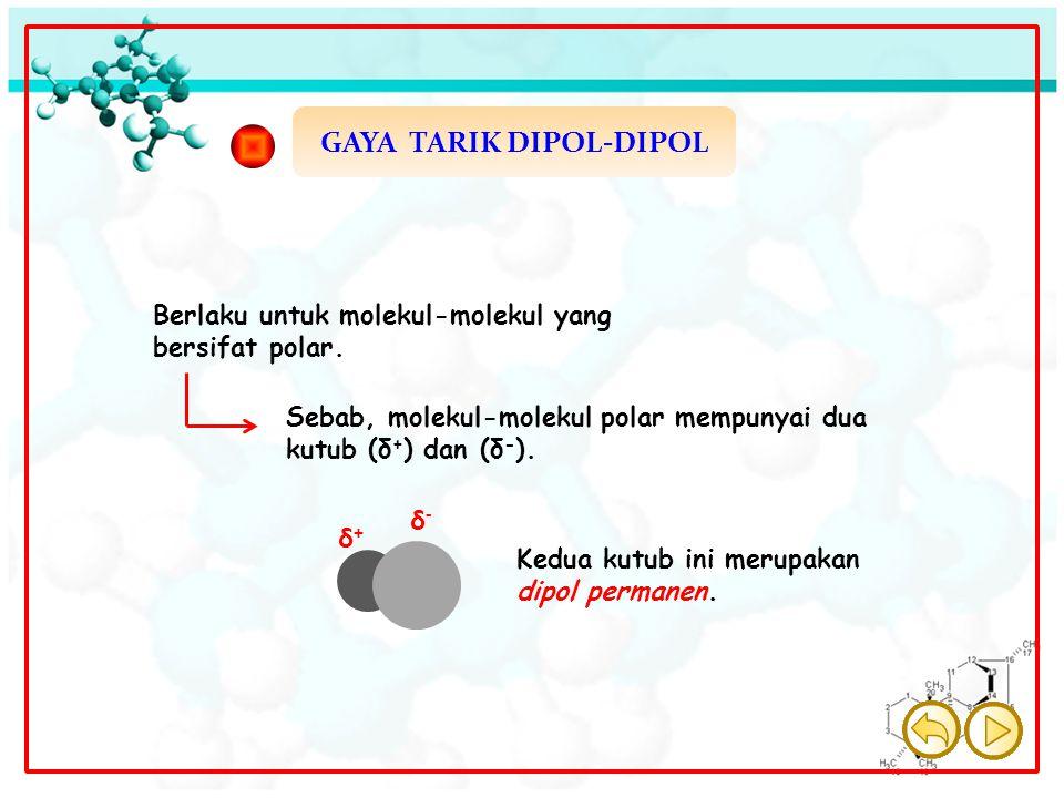 GAYA TARIK DIPOL-DIPOL