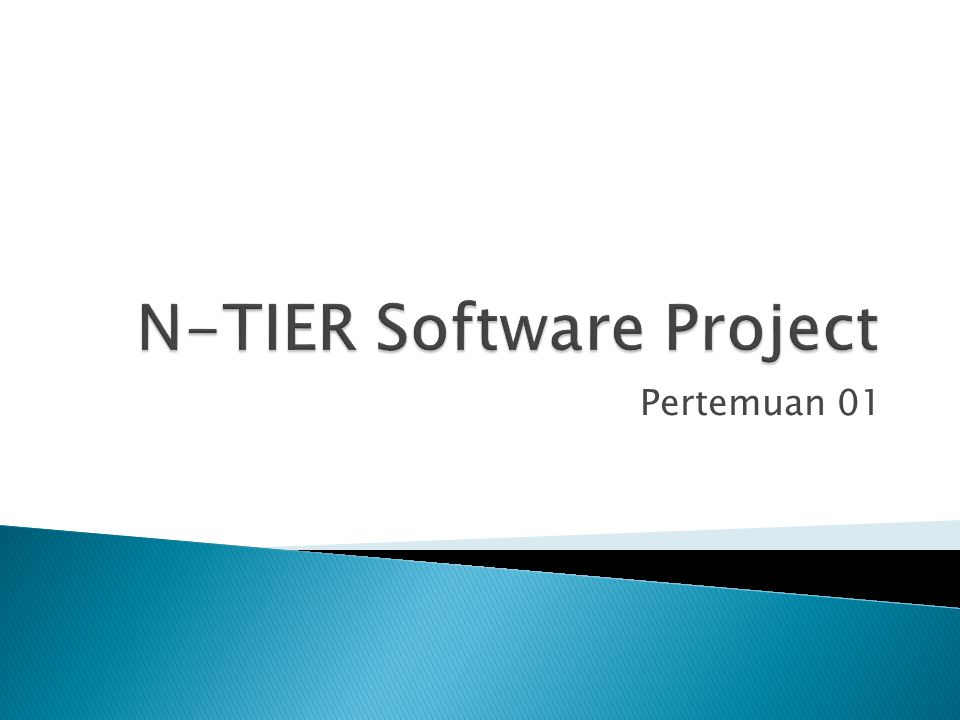 N-TIER Software Project