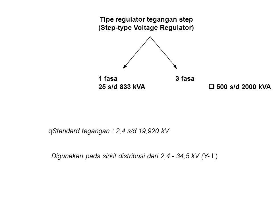 (Step-type Voltage Regulator)