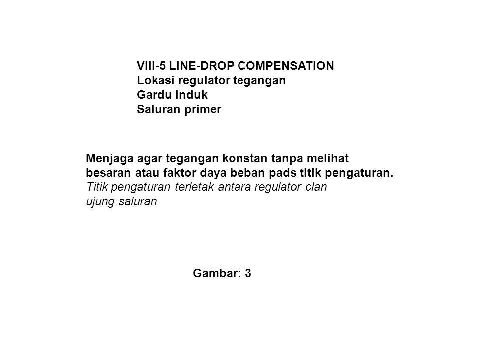 VIII-5 LINE-DROP COMPENSATION