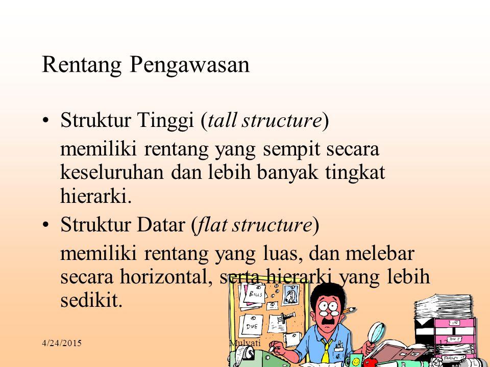 Rentang Pengawasan Struktur Tinggi (tall structure)