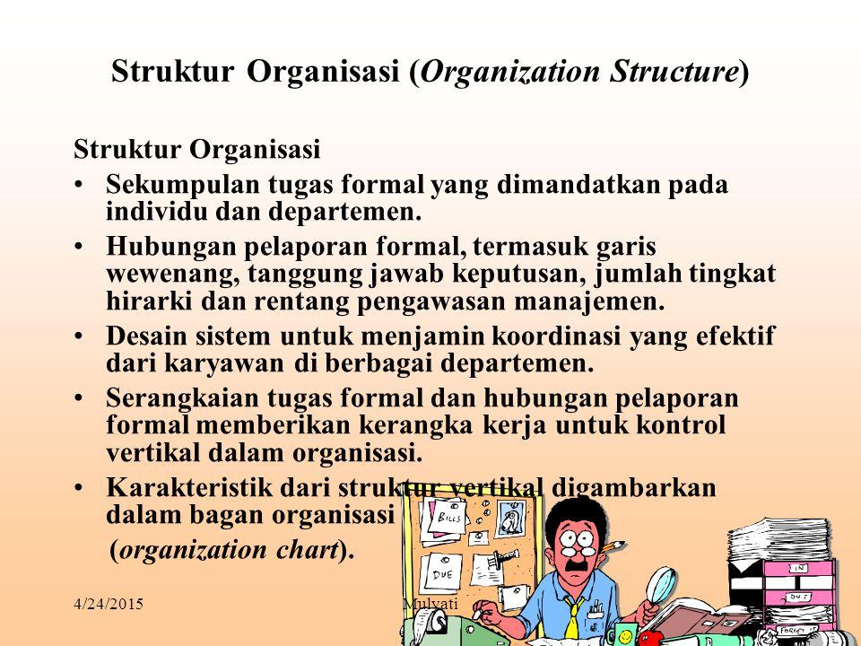 Struktur Organisasi (Organization Structure)