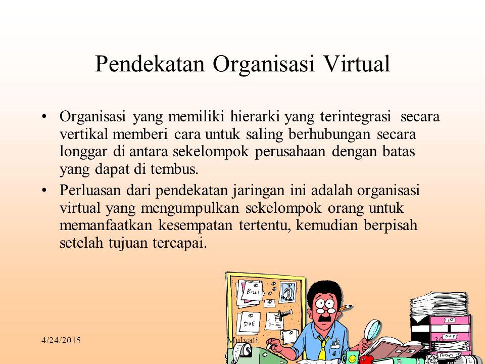 Pendekatan Organisasi Virtual