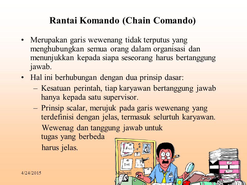 Rantai Komando (Chain Comando)