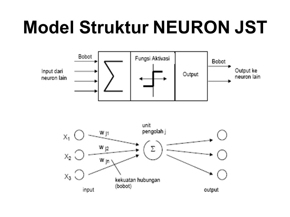 Model Struktur NEURON JST