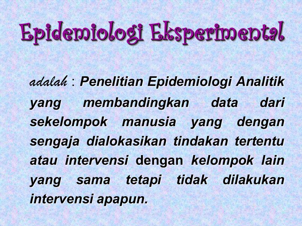 Epidemiologi Eksperimental