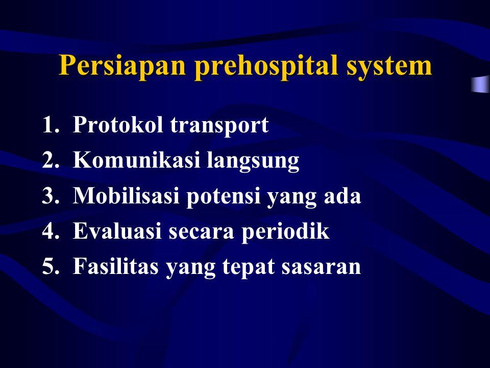 Persiapan prehospital system