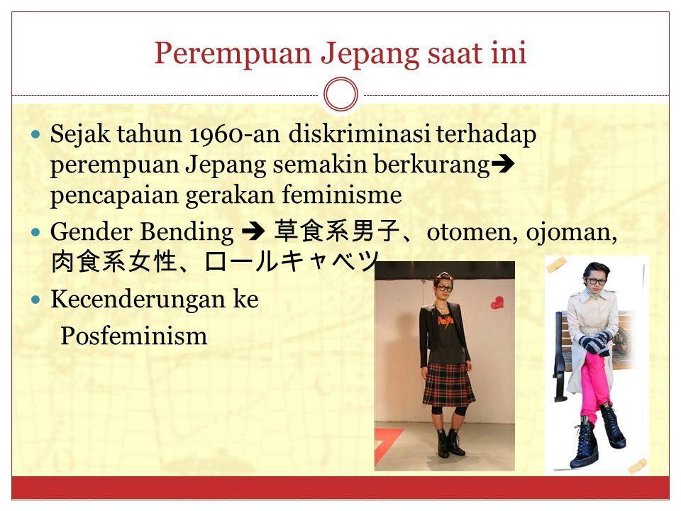 Perempuan Jepang saat ini