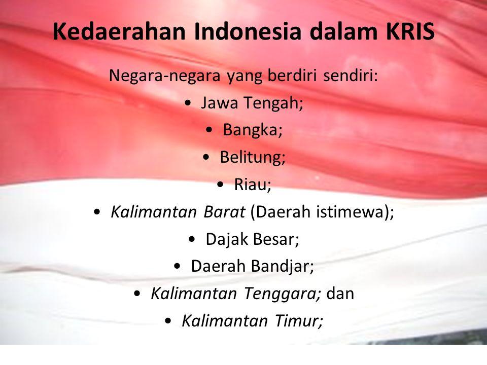 Kedaerahan Indonesia dalam KRIS