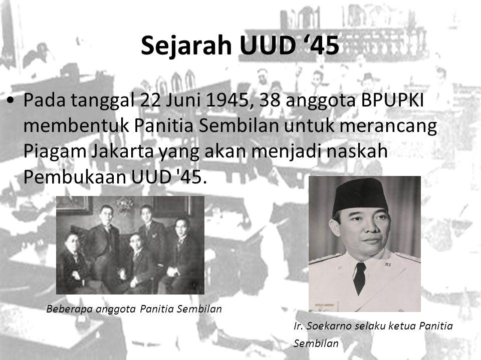 Sejarah UUD '45
