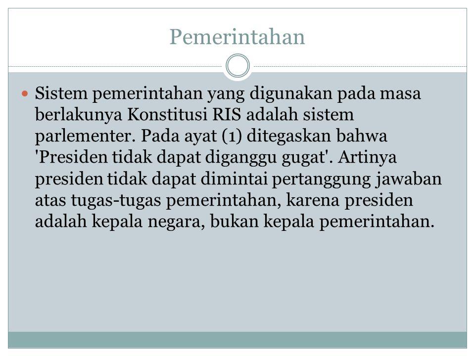Pemerintahan