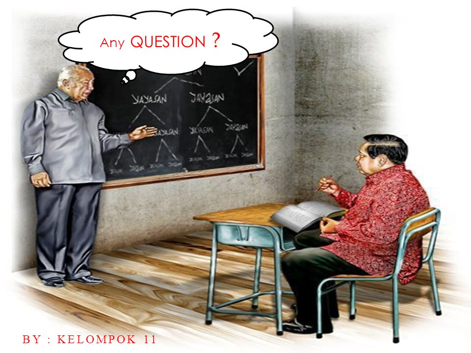Any QUESTION By : kelompok 11