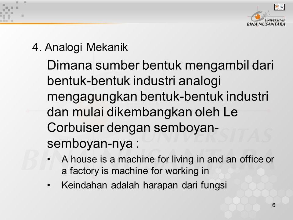 4. Analogi Mekanik