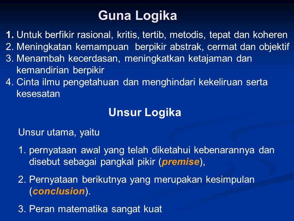 Guna Logika Unsur Logika