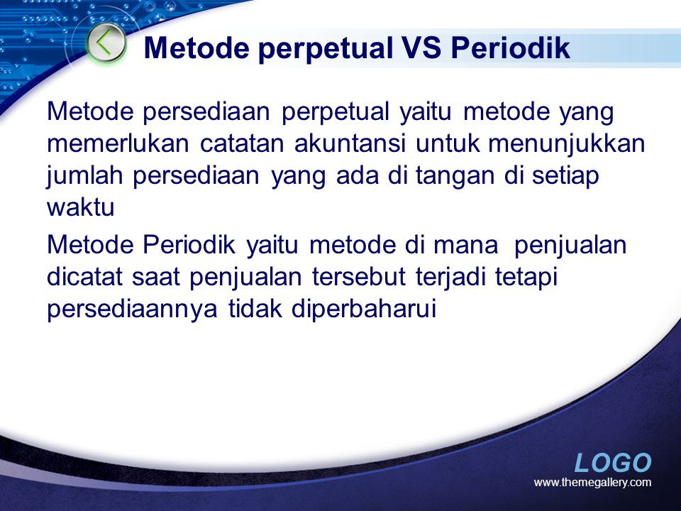 Metode perpetual VS Periodik