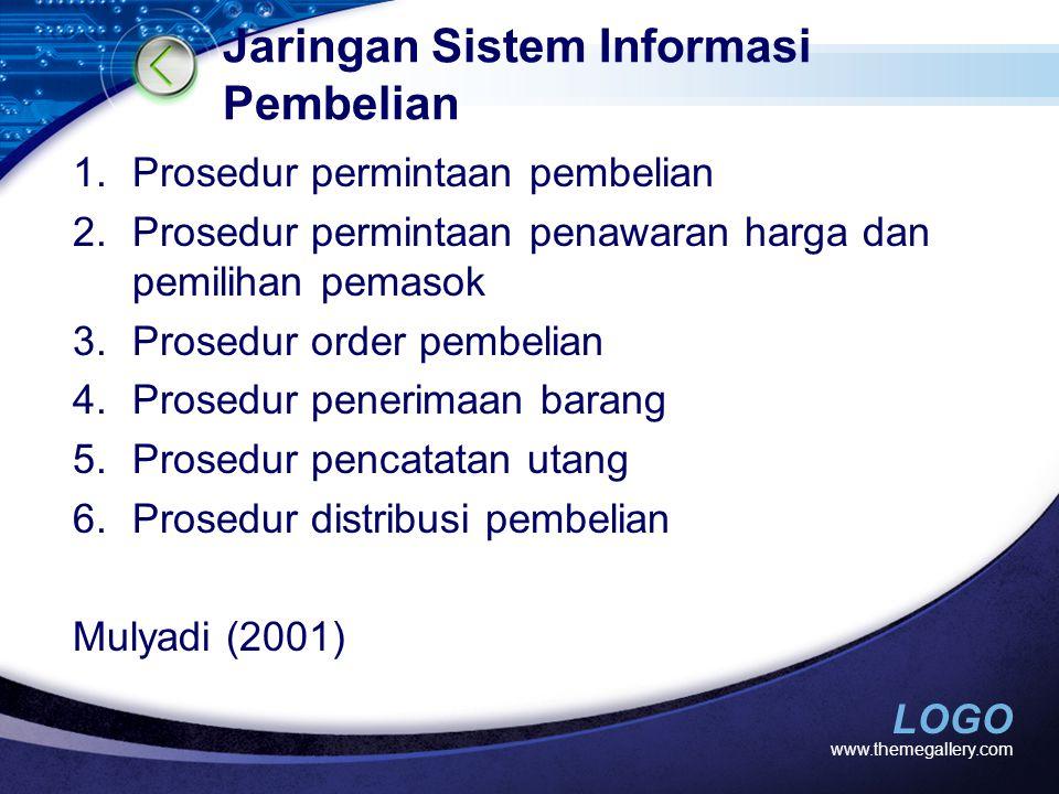 Jaringan Sistem Informasi Pembelian