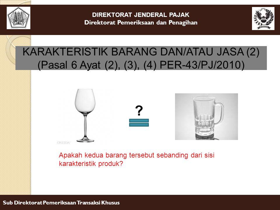 KARAKTERISTIK BARANG DAN/ATAU JASA (2)
