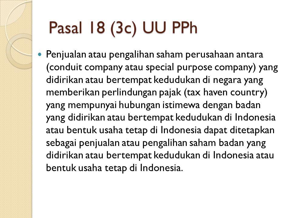 Pasal 18 (3c) UU PPh
