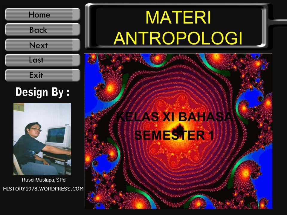 KELAS XI BAHASA SEMESTER 1