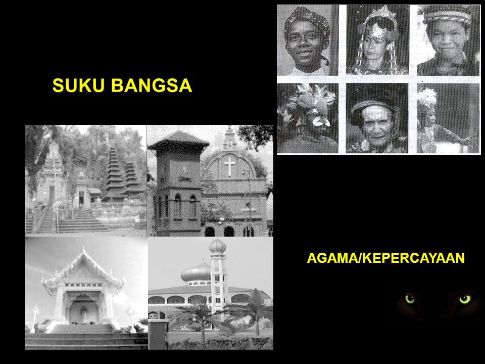 SUKU BANGSA AGAMA/KEPERCAYAAN