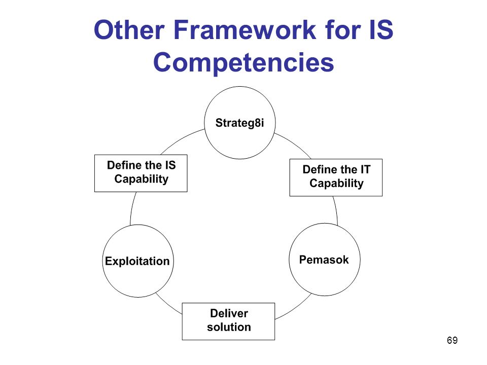 Other Framework for IS Competencies