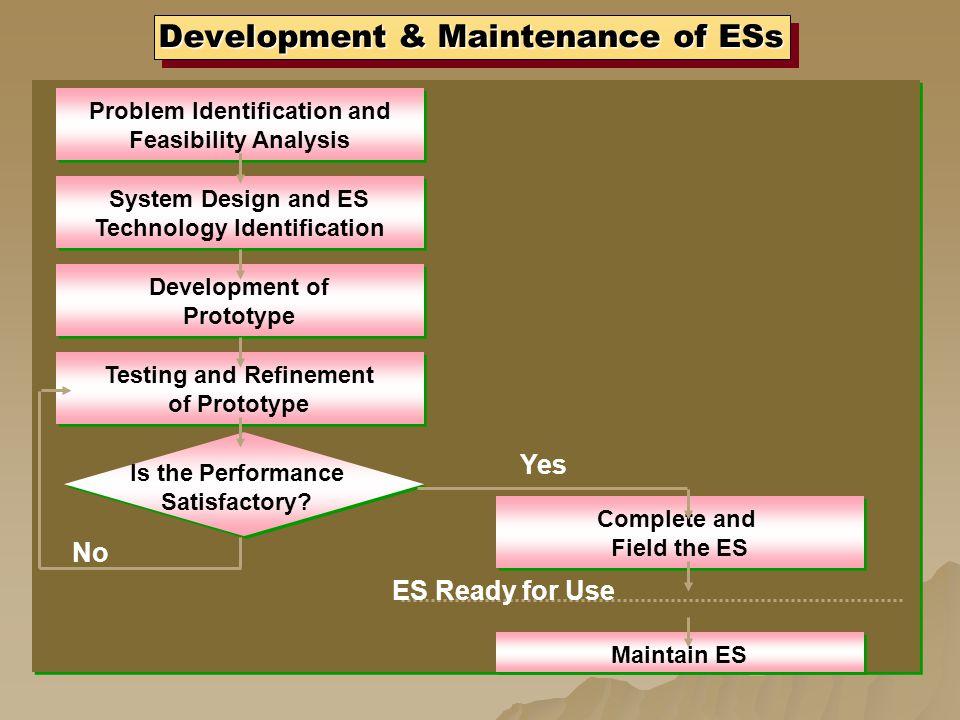 Development & Maintenance of ESs