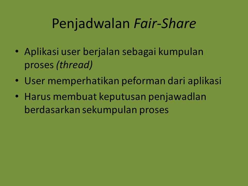 Penjadwalan Fair-Share