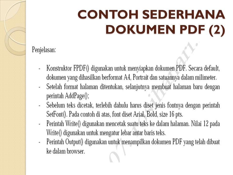 CONTOH SEDERHANA DOKUMEN PDF (2)