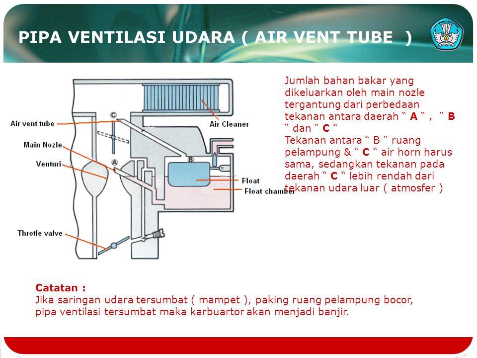 PIPA VENTILASI UDARA ( AIR VENT TUBE )