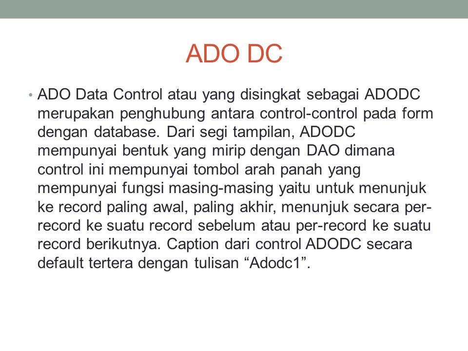ADO DC