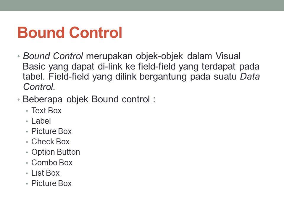 Bound Control