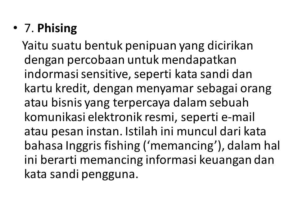 7. Phising