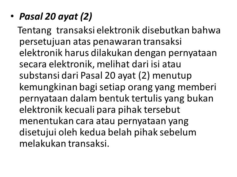 Pasal 20 ayat (2)