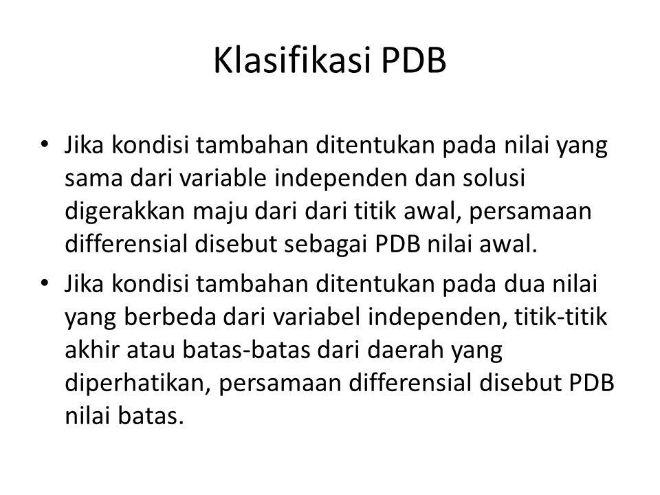 Klasifikasi PDB