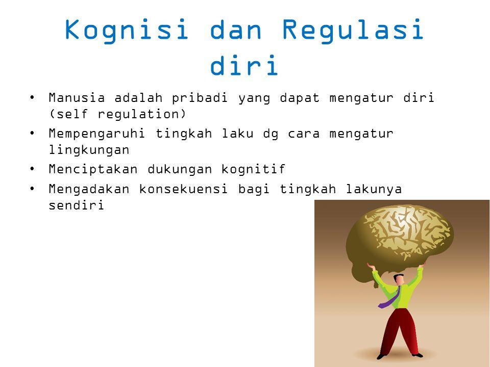Kognisi dan Regulasi diri
