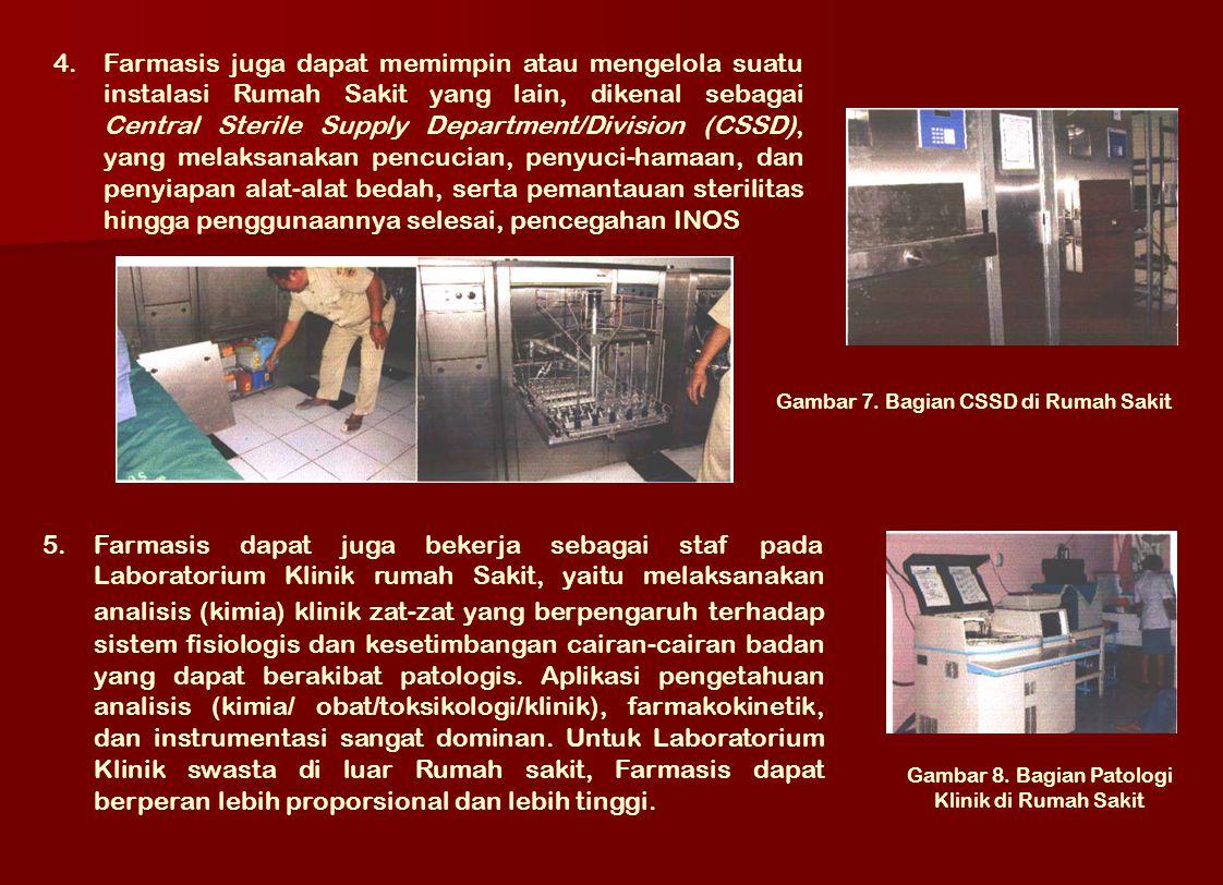 Gambar 8. Bagian Patologi Klinik di Rumah Sakit
