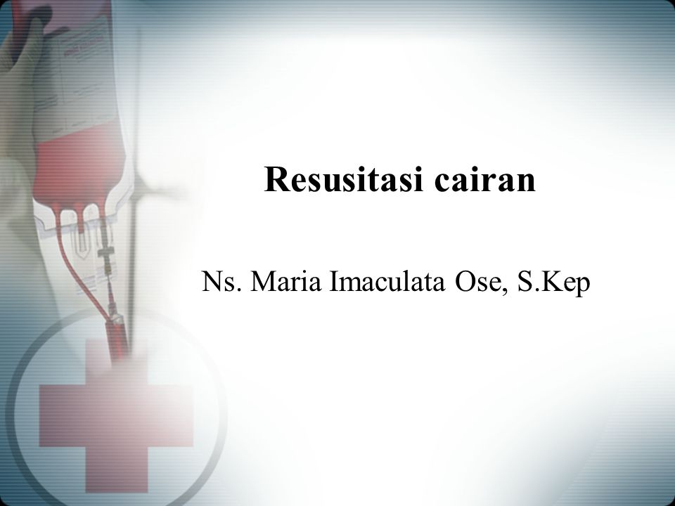 Ns. Maria Imaculata Ose, S.Kep