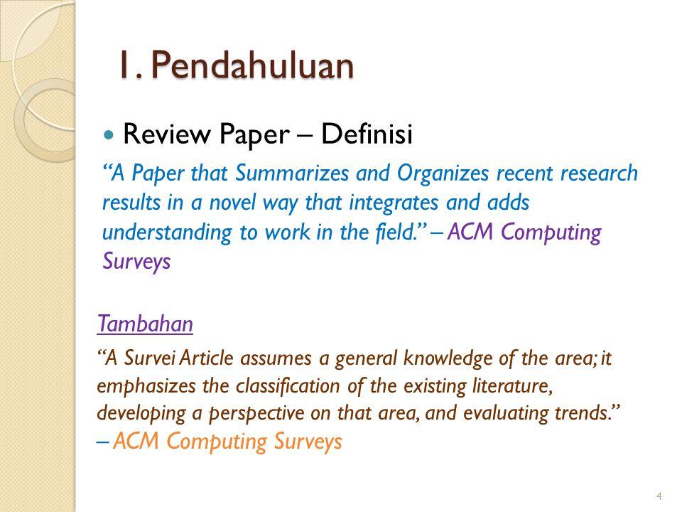 1. Pendahuluan Review Paper – Definisi