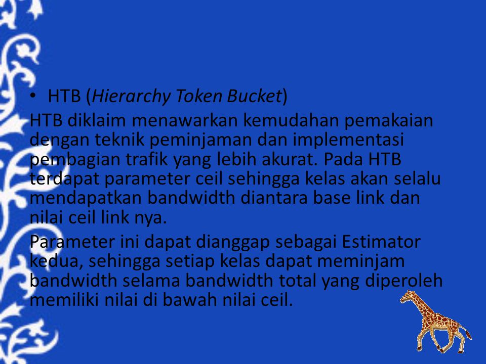 HTB (Hierarchy Token Bucket)