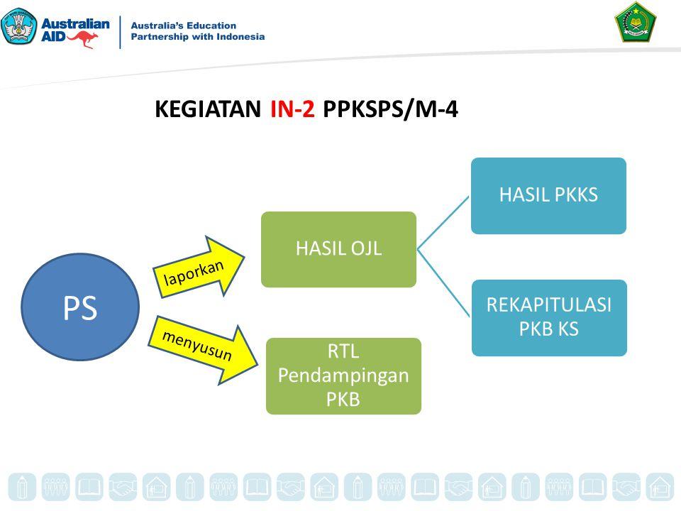 KEGIATAN IN-2 PPKSPS/M-4