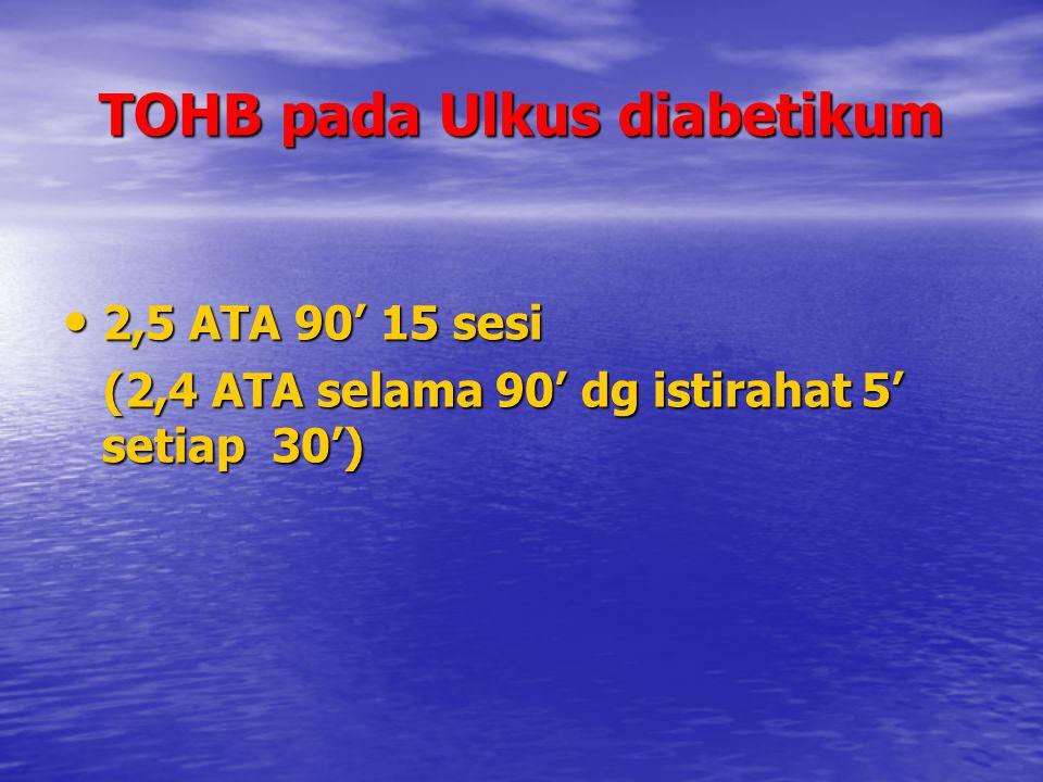 TOHB pada Ulkus diabetikum