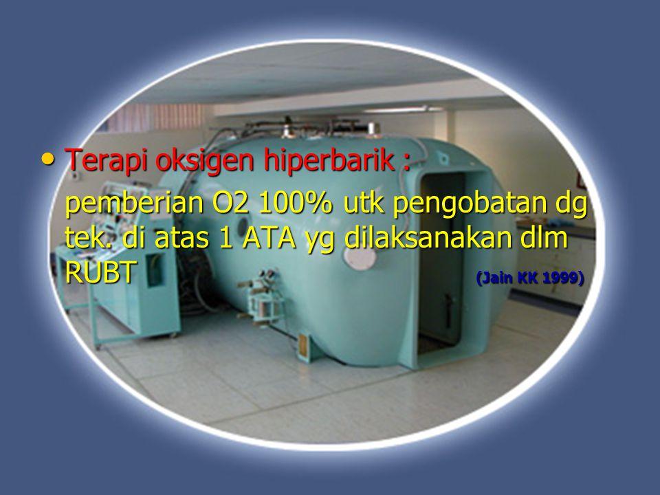 Terapi oksigen hiperbarik :