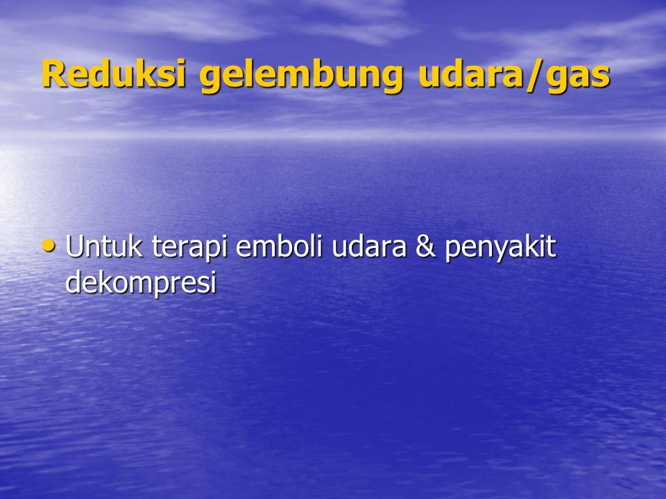 Reduksi gelembung udara/gas