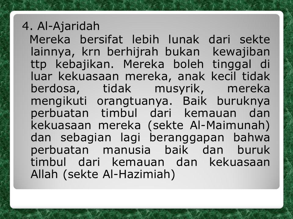 4. Al-Ajaridah